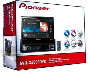 Pioneer-AVH-X6500DVD-Touch-Screen-DVD-CD-MP3-Flip-Up-Radio-Multimedia-NEW