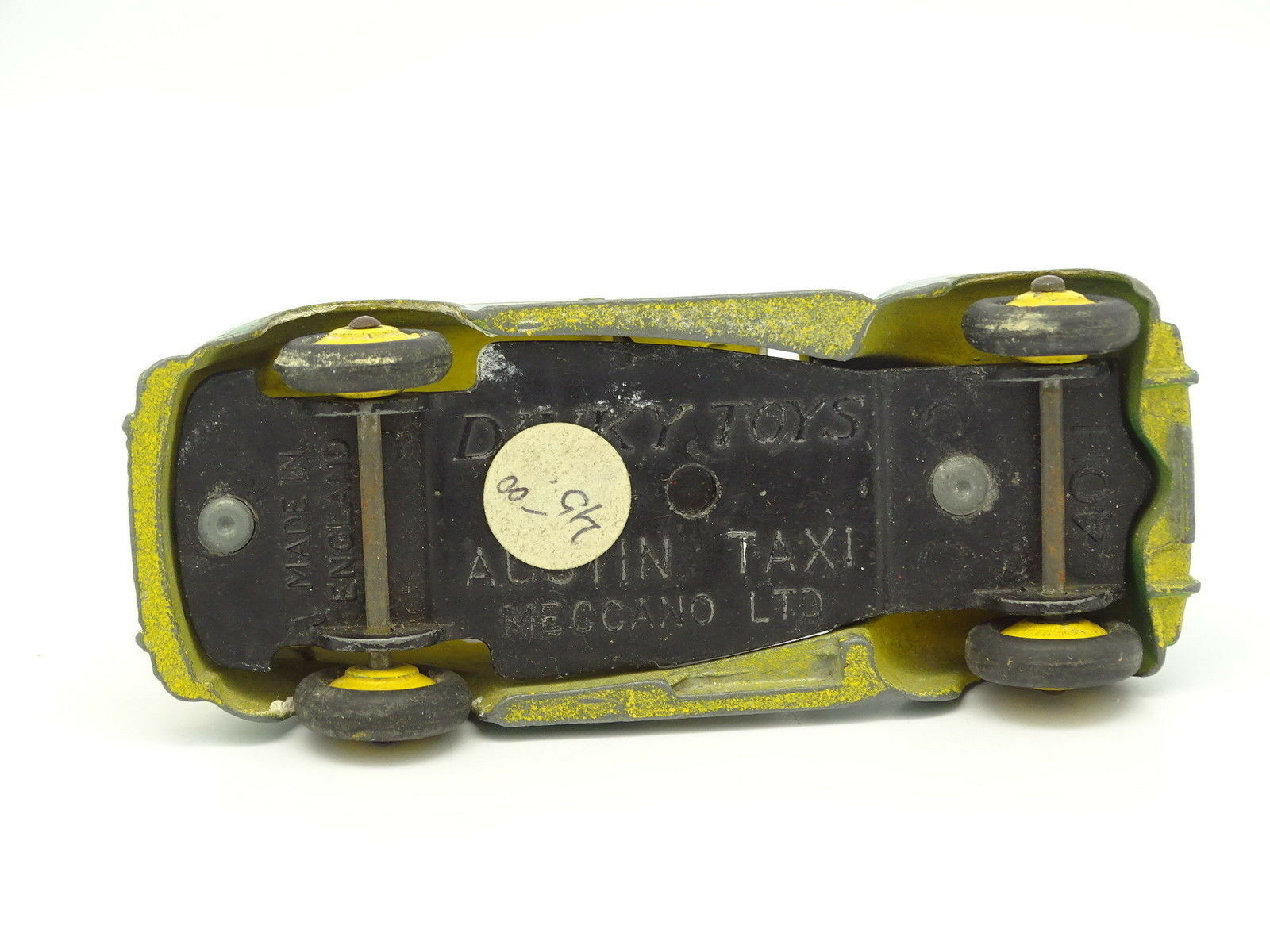 Dinky Toys GB SB 1 43 - Austin Taxi green green green y yellow B 98b00b