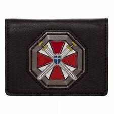 RESIDENT EVIL Umbrella Corporation Metal Badge Bi-Fold WALLET