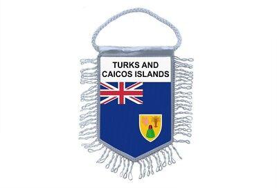 Sammeln & Seltenes VertrauenswüRdig Wimpel Mini Flagge Land Auto Iles Türken Und Caiques Turks Caicos Inseln