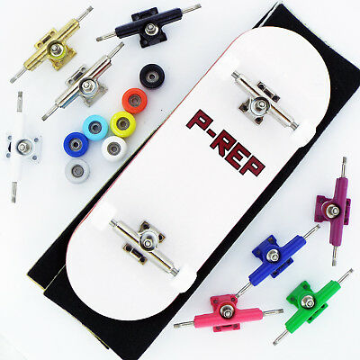 Pick Trucks and Wheels P-REP 34mm Bandito Complete Wooden Fingerboard
