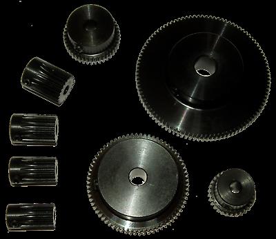 Stirnrad Plastik Typ KS Zahnräder Modul 1,5 aus Kunststoff 12 bis 150 Zähne