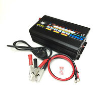2000W 4000W Peak POWER INVERTER DC 12V AC TO 220V 230V 240V UPS Battery Charger