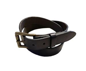 Cole-Haan-Men-039-s-SZ-35-Belt-Leather-Black-Gold-Toned