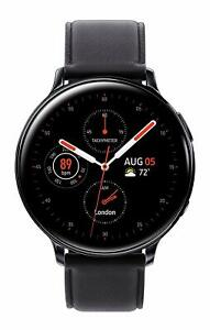 Samsung Galaxy Watch Active 2 SM-R825U 44mm Black Leather Band (LTE & GPS)
