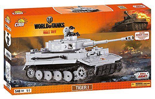 COBI 3000 Tiger I Tank Model