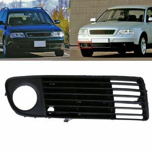 1Pair LEFT+RIGHT Front Bumper Molding Trim PAIR Fits For AUDI A6 C5 1998-2002