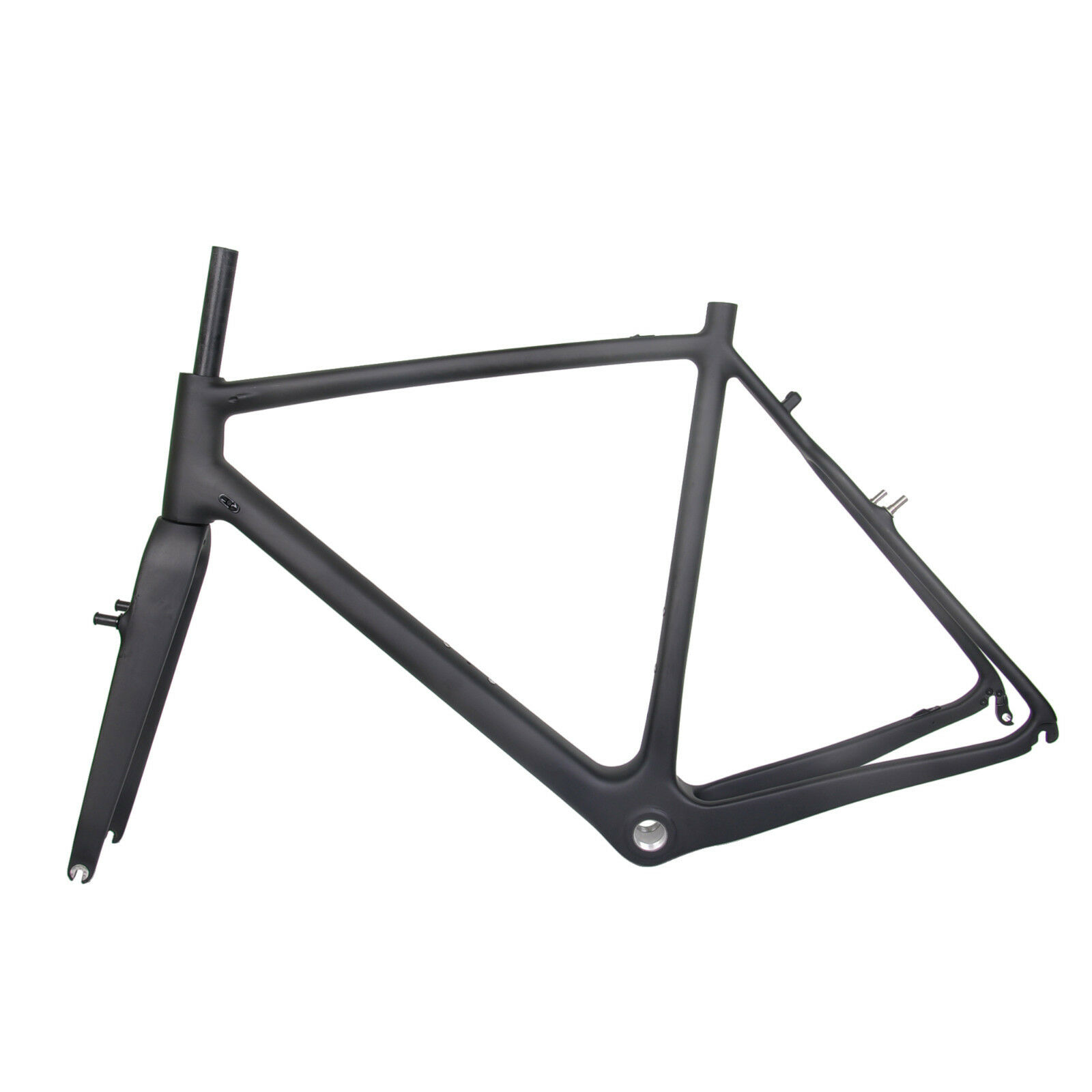 54cm Cyclocross Gravel Bike Carbon Frame Fork UD Matt Glossy Di2 V Brake BSA