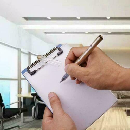 3 Größen Blau Klemmbrett Schreibtafel Klemmbrett Büro Schulbedarf Schreibwa I4W5
