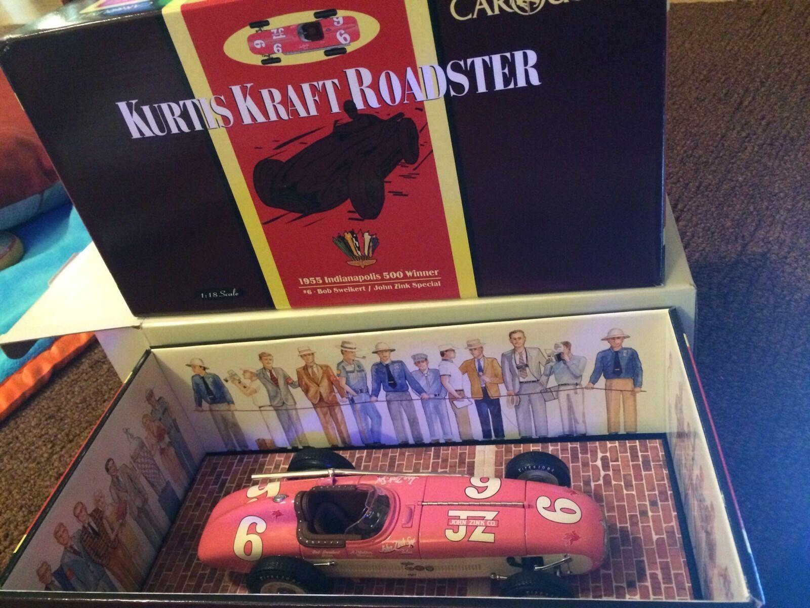 6 bob sweikert kurtis kraft roadster 1955 indy 500 gewonnen 1   18 - karussell.