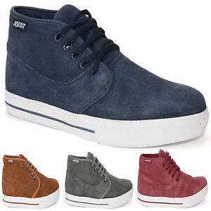 MENS-LEATHER-SUEDE-ANKLE-HI-HIGH-TOP-SKATE-BASEBALL-TRAINERS-DESERT-BOOTS-SIZE