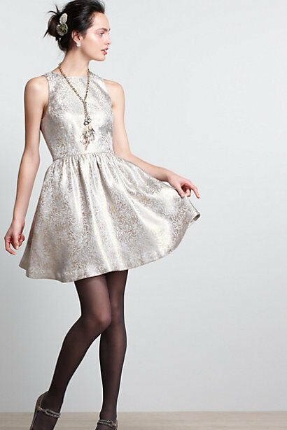 NWOT Anthropologie Sunday Dress Made In USA Size 10