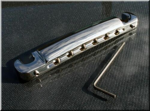 Faber TPW59NG TPW-59-NG,Wraparound Tailpiece Gloss Finish Nickel plated