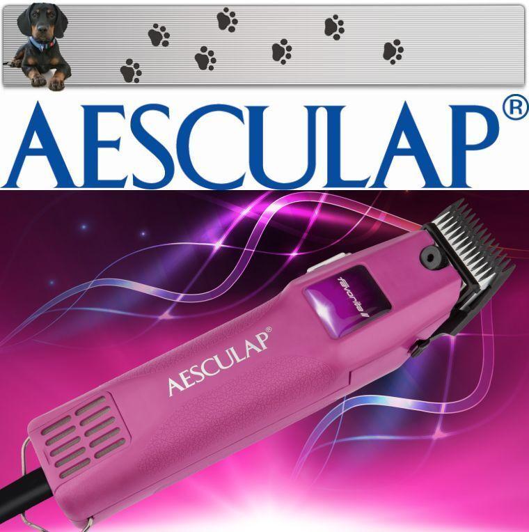 Aesculap Favorita II Potente Indicatore Tosatrice per Cani + Testina di Rasatura