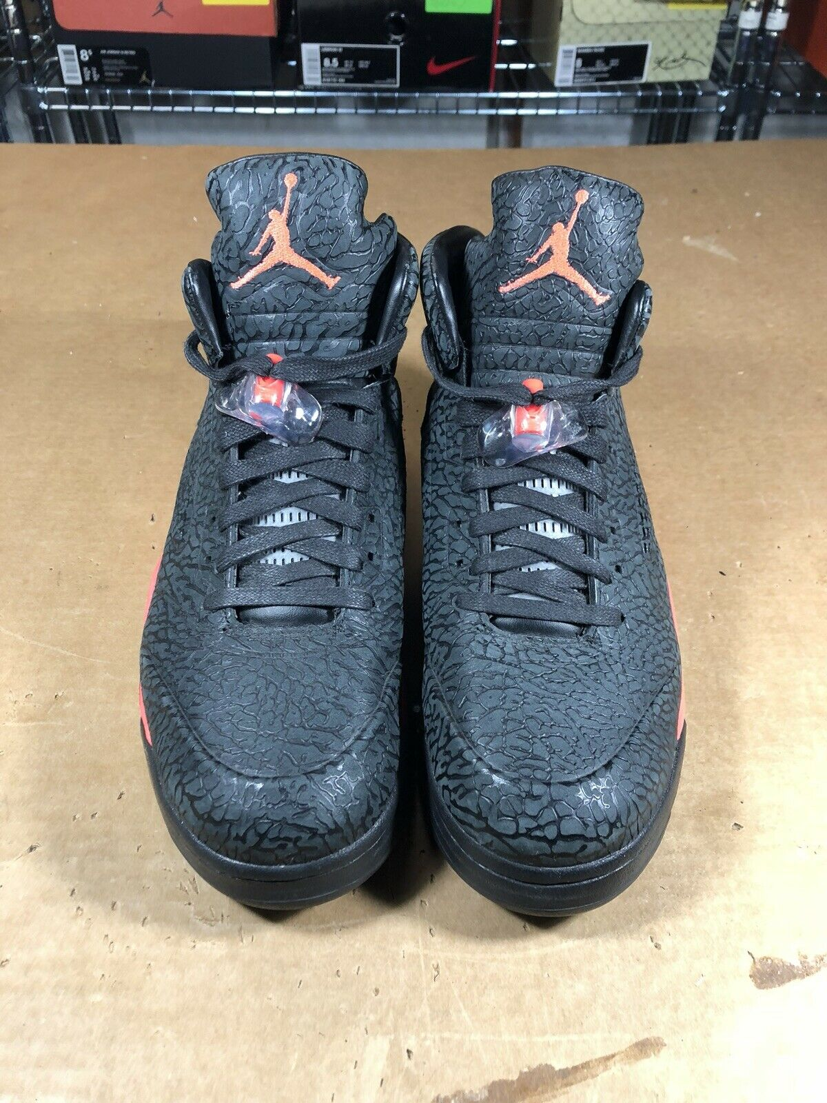 100% Authentic Air Jordan 5 3lab5 Infrared Size 12 599581 010