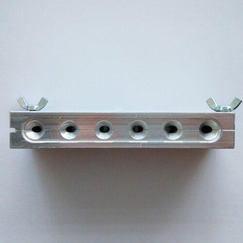 Aluminum Fishing Sinker Mold Lead Round 30-32-34-36-38-40 g DIY