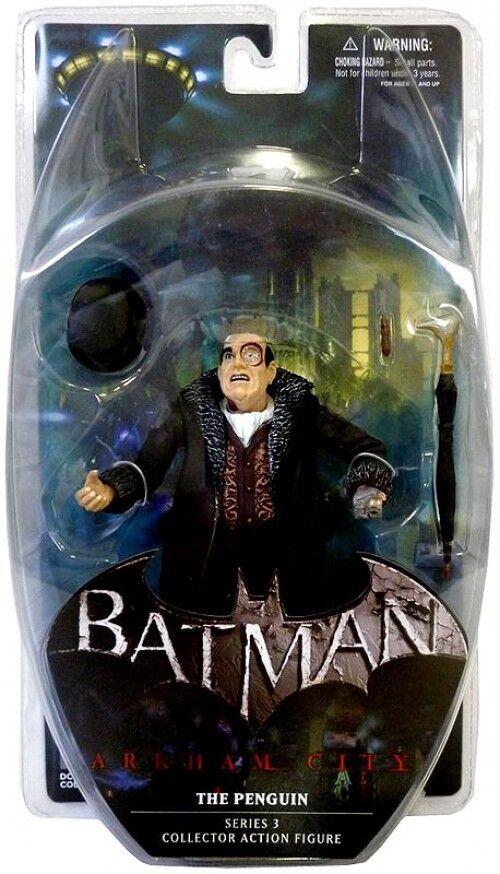 Batman Arkham City Series 3 The Penguin Action Figure