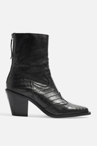 39 36 41 Mid Eu Topshop Ankle Heel 2 42 Size 37 38 40 Boots Marcel black CnwxqgS