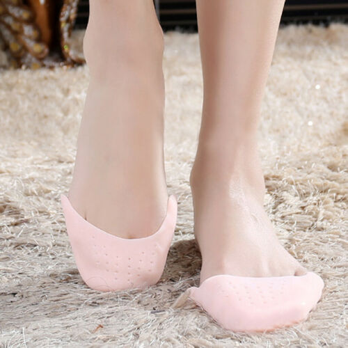 1pair Footful Silicone Gel Toe Elastic Pads Ballet Point ShoeDanceProtection