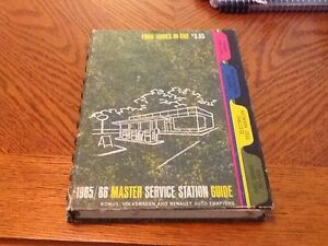 vintage 1965 66 master service station guide covers cars from 1956 rh ebay ie service station guidelines service station building cost