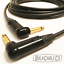 NEUTRIK NP2RX-B RIGHT ANGLE CONNECTORS RA//RA ENDS 18/' MOGAMI 2524 GUITAR CABLE
