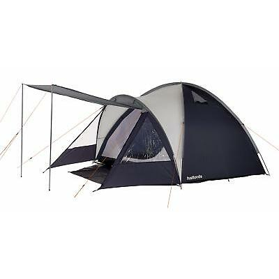 Halfords 4 Man Double Skin Outdoor Camping Camp Taped Seams Dome Tent 5.7kg