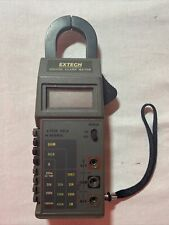 Extech Instruments 400a Digital Clamp Meter With Built In Multimeter Tested