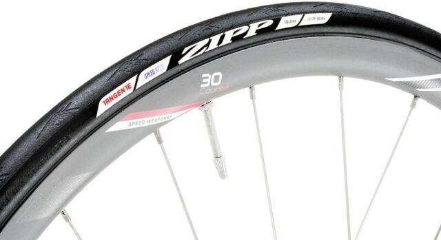 Zipp Tangente Speed Clincher Road Tire 700x25 Tubeless Black
