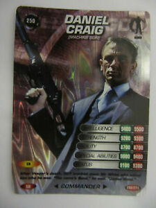 - Moon // Graves DNA Change 189 James Bond 007 Spy Cards Ultra-Rare 2008