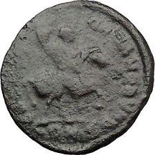THEODOSIUS I the Great  on horse 392AD Rare Authentic Ancient Roman Coini32768