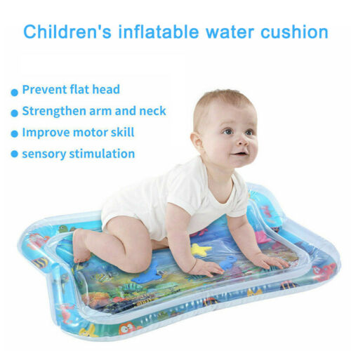 66x50cm Best Tummy Time Water Play Mat for Kids n Baby,Large ,6 sea toys in mat