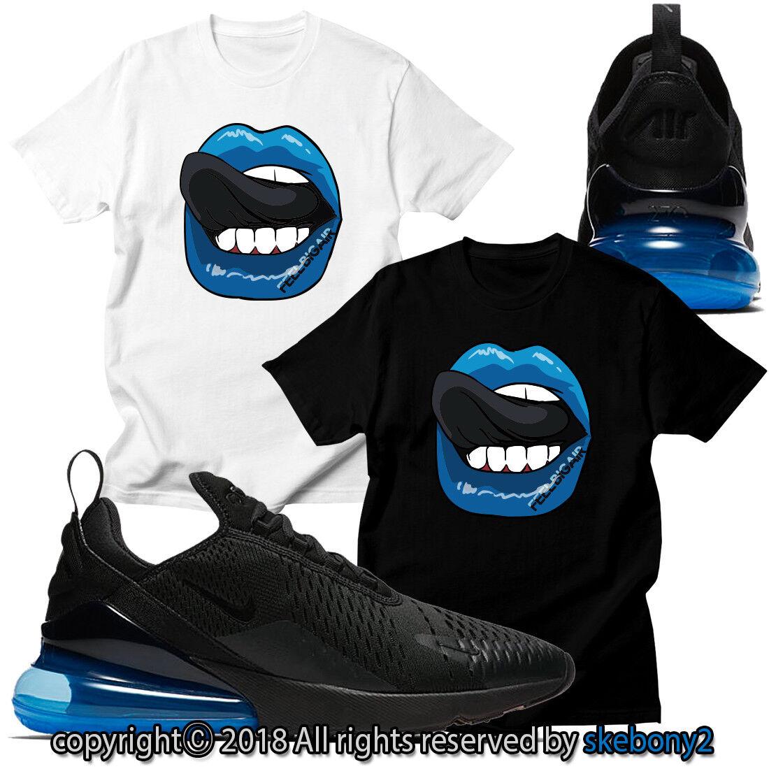 NY TYGGANDE T-SHIRT som matchar Nike Air Max 270 BLACK PHOTO BLUE AM270 1-9-4