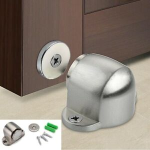 Home-Stainless-Steel-Magnetic-Floor-Mount-Hidden-Door-Stop-Stopper-Catch-Holder