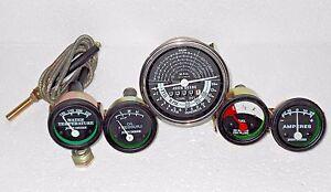 john-deere-tachometer-Temp-Oil-Amp-Fuel-Gauge-Set
