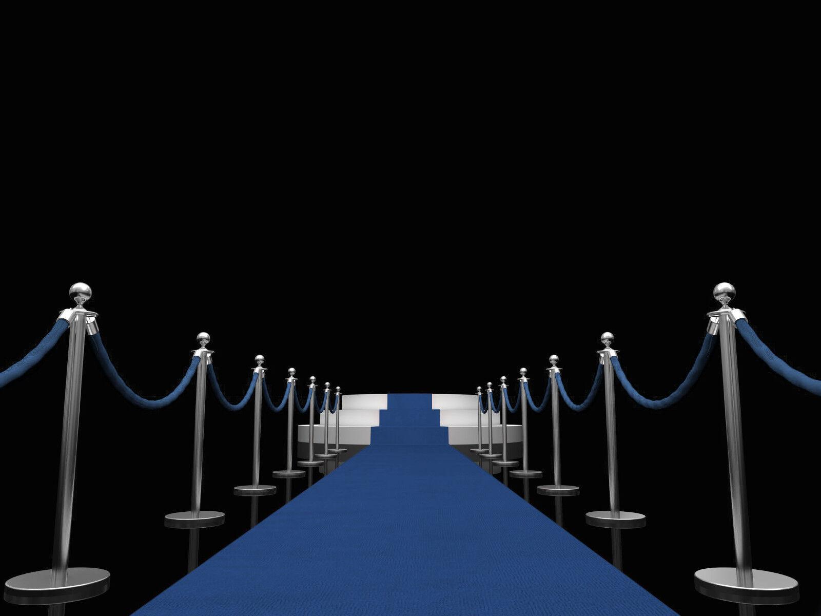 Blauer Teppich, VIP Teppich, Empfangsteppich, Hochzeitsteppich ab 2,95 m²