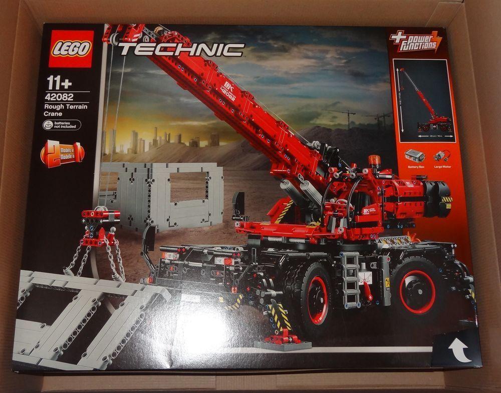 Lego Technic  Terrain Common Crane Wagon (42082) Original Boxed and Sealed  qualité authentique