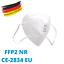 Indexbild 76 - ✅ 5 Stk FFP2 Maske Bunt Farbig 5-Lagig Atemschutz ✅  CE ✅  ERWACHSENE & KINDER