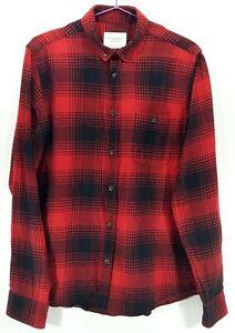 1-Primark-Camisas-De-Franela-De-Cuadros-44-039-L-Hombres-Boutique-Vintage