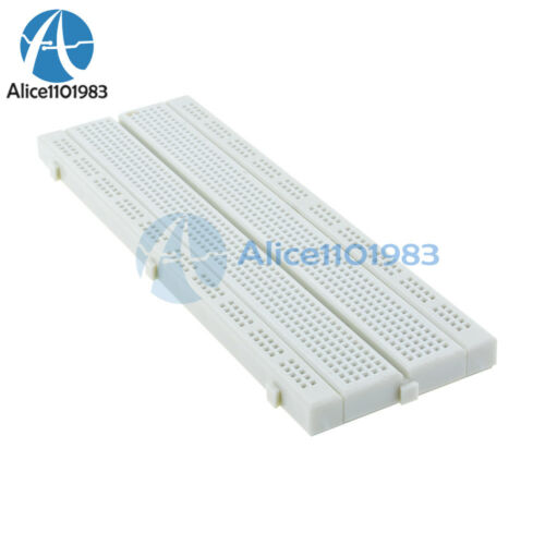 10PCS MB-102 MB102 Breadboard 830 Point Solderless PCB Test Develop Bread Board