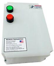 Elimia DOL Heavy Duty Motor Starter 30 HP 480V Nema 3R Hinged Door 480 Volt