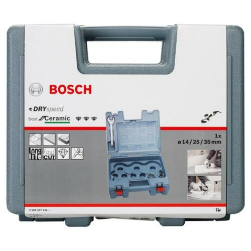 Bosch dry speed Diamant Trockenbohrer 3erSet 2608587136 14 35 mm 25