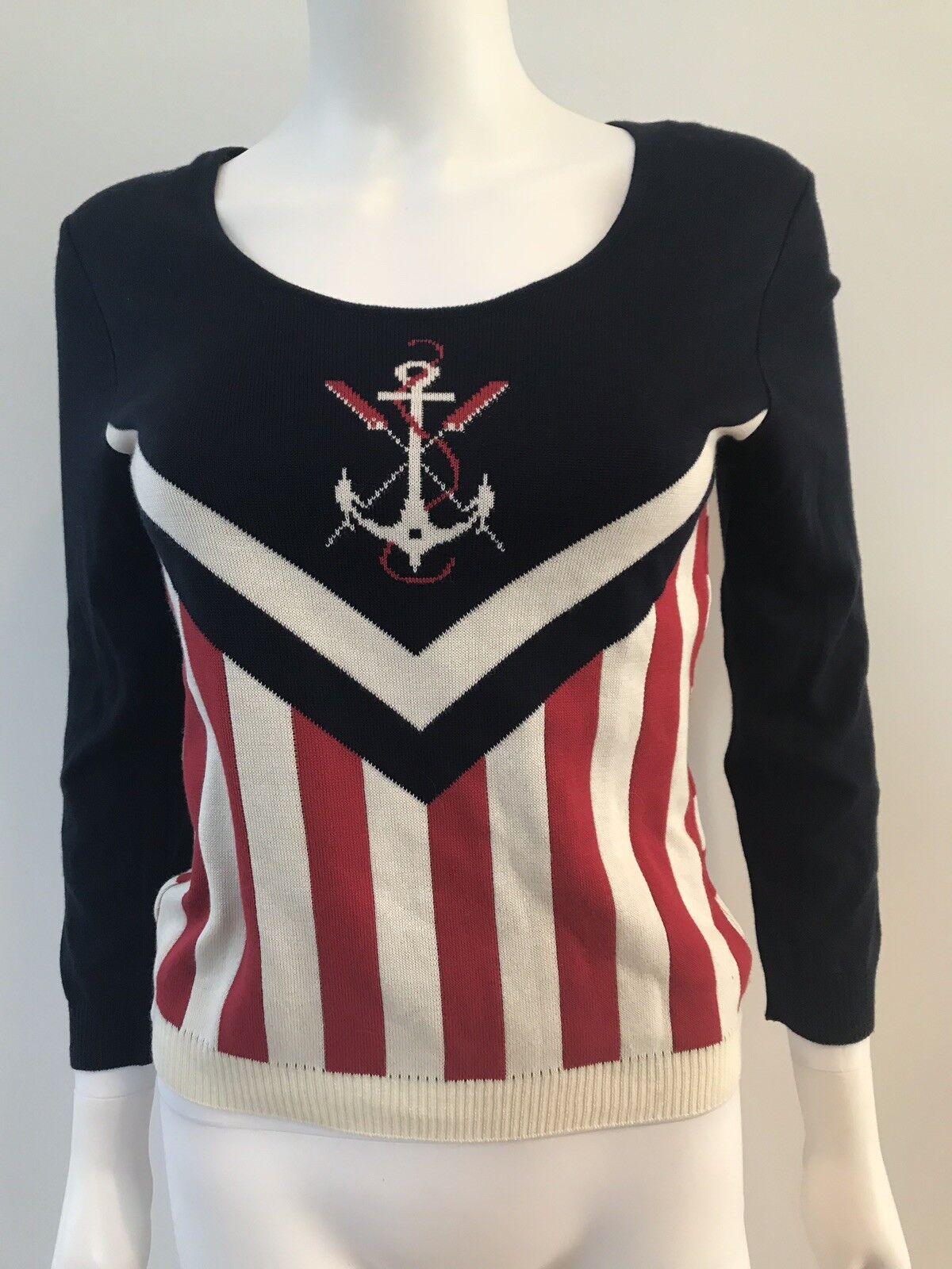ICB New York Sailor RARE Knit Sweater