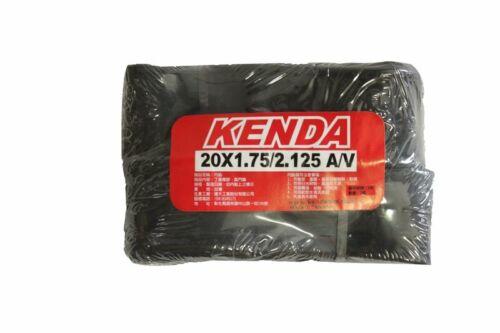 2 pcs KENDA 20x1.75//2.125 A//V Schrader//American Folding Mini Bike Inner Tubes