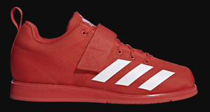 new style b89dd 48204 Image is loading New-adidas-Powerlift-3-1-Red-White-Weightlifting-