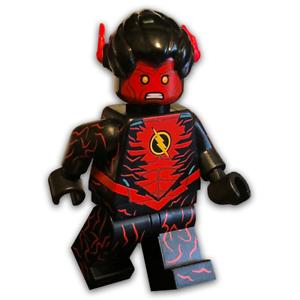 LEGO-Custom-PAD-PRINTED-Daniel-West-Prime-Earth-Flash-Minifigure-LIMITED-EDITION