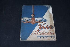 Old-Book-Catalog-Main-Catalogue-No-56-1935-36-Holzleuchten-Old-Vintage-Zico