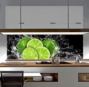 Details zu Küchenrückwand AluDibond auch für L und U Küchen Spritzschutz  für Herd SP6