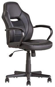 Sensational Details About Argos Home Mid Back Gas Lift Tilt Swivel Lock Office Gaming Chair Black Andrewgaddart Wooden Chair Designs For Living Room Andrewgaddartcom