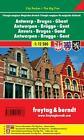 Antwerpen - Brügge - Gent - Magisches Dreieck 1 : 12 500 City Pocket (2013, Mappe)