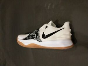 official photos 728d6 fddcc Image is loading Nike-Kyrie-IV-4-Low-White-Black-Gum-